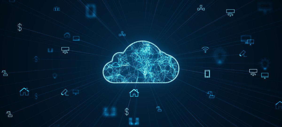 komputer w chmurze