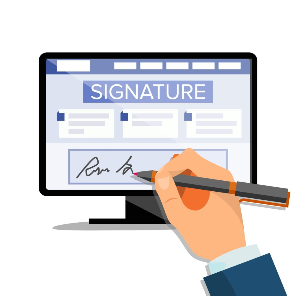 Jak podpisać dokument podpisem elektronicznym?